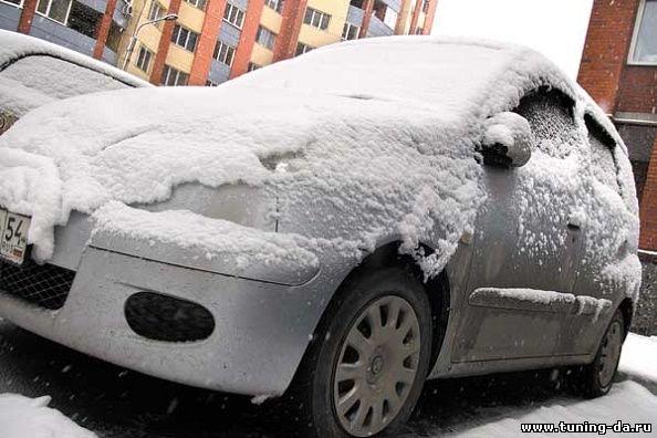 Как сохранить автомобиль без гаража